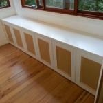 Panelled doors cabinet