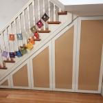 Shaker Doors Under Stair