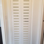 Slatted Laundry Doors Mosman