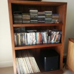 Timber bookcase Turramurra