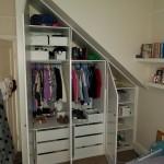 Under Stair Wardrobe