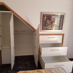 Under Stair Wardrobe with Drawers