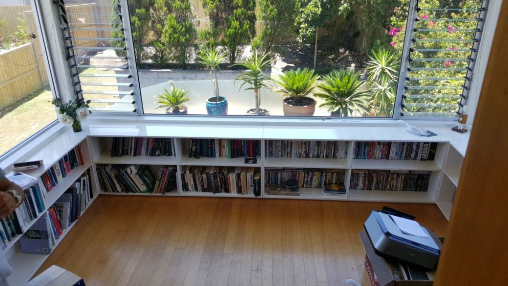 on the news using best about decluttering s bookcase window home images space shelving for under organizing jeris